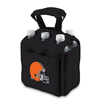 Picnic Time® NFL® Cleveland Browns Six Pack Digital Print Insulated Holder