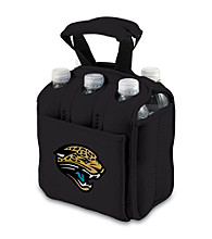 Picnic Time® NFL® Jacksonville Jaguars Six Pack Digital Print Insulated Holder
