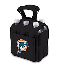 Picnic Time® NFL® Miami Dolphins Six Pack Digital Print Insulated Holder