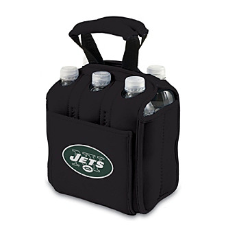 Picnic Time® NFL® New York Jets Six Pack Digital Print Insulated Holder