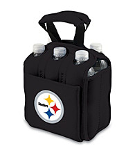 Picnic Time® NFL® Pittsburgh Steelers Six Pack Digital Print Insulated Holder