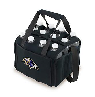 Picnic Time® NFL® Baltimore Ravens Twelve Pack Digital Print Insulated Holder