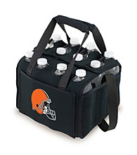 Picnic Time® NFL® Cleveland Browns Twelve Pack Digital Print Insulated Holder