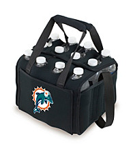 Picnic Time® NFL® Miami Dolphins Twelve Pack Digital Print Insulated Holder