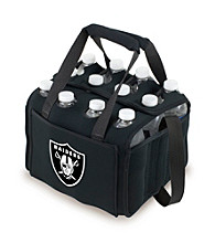 Picnic Time® NFL® Oakland Raiders Twelve Pack Digital Print Insulated Holder