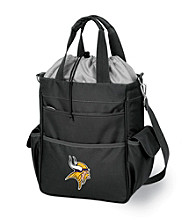 Picnic Time® NFL® Minnesota Vikings Activo Digital Print Insulated Cooler Tote