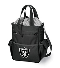 Picnic Time® NFL® Oakland Raiders Activo Digital Print Insulated Cooler Tote