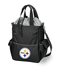 Picnic Time® NFL® Pittsburgh Steelers Activo Digital Print Insulated Cooler Tote