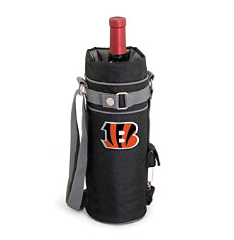 Picnic Time® NFL® Cincinnati Bengals Wine Sack Digital Print Insulated Single Bottle Tote