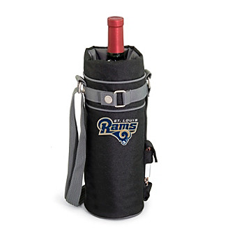 Picnic Time® NFL® St. Louis Rams Wine Sack Digital Print Insulated Single Bottle Tote
