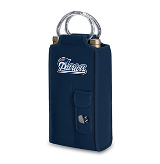 Picnic Time® NFL® New England Patriots Brunello Digital Print Insulated Two-Bottle Wine Tote