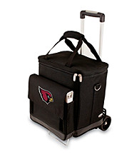Picnic Time® NFL® Arizona Cardinals Cellar with Trolley Digital Print Insulated Tote/Cooler