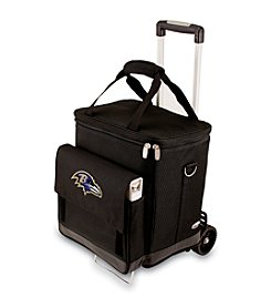 NFL® Baltimore Ravens Cellar with Trolley Insulated Tote/Cooler