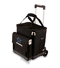 Picnic Time® NFL® Dallas Cowboys Cellar with Trolley Digital Print Insulated Tote/Cooler