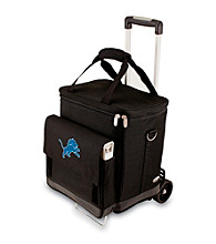 Picnic Time® NFL® Detroit Lions Cellar with Trolley Digital Print Insulated Tote/Cooler