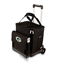 Picnic Time® NFL® Green Bay Packers Cellar with Trolley Digital Print Insulated Tote/Cooler