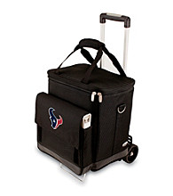 Picnic Time® NFL® Houston Texans Cellar with Trolley Digital Print Insulated Tote/Cooler