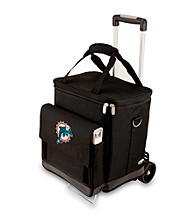 Picnic Time® NFL® Miami Dolphins Cellar with Trolley Digital Print Insulated Tote/Cooler