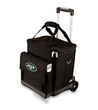 Picnic Time® NFL® New York Jets Cellar with Trolley Digital Print Insulated Tote/Cooler