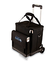 Picnic Time® NFL® Seattle Seahawks Cellar with Trolley Digital Print Insulated Tote/Cooler