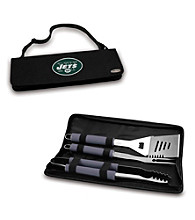 Picnic Time® NFL® Black Metro BBQ Tote - New York Jets Digital Print