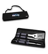 Picnic Time® NFL® Black Metro BBQ Tote - Seattle Seahawks Digital Print