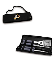 Picnic Time® NFL® Black Metro BBQ Tote - Washington Redskins Digital Print