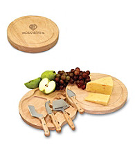 Picnic Time® NFL® Circo Cutting Board - Baltimore Ravens Engraved