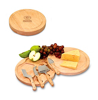 Picnic Time® NFL® Circo Cutting Board - Green Bay Packers Engraved