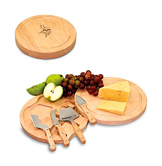 Picnic Time® NFL® Circo Cutting Board - Minnesota Vikings Engraved