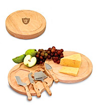 Picnic Time® NFL® Circo Cutting Board - Oakland Raiders Engraved