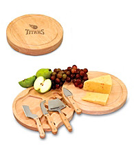 Picnic Time® NFL® Circo Cutting Board - Tennessee Titans Engraved