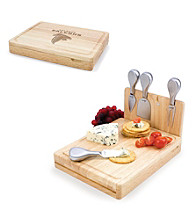 Picnic Time® NFL® Asiago Cutting Board - Atlanta Falcons Engraved