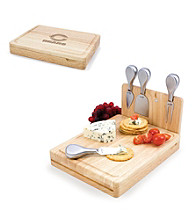 Picnic Time® NFL® Asiago Cutting Board - Chicago Bears Engraved