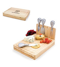 Picnic Time® NFL® Asiago Cutting Board - Cincinnati Bengals Engraved