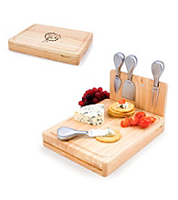 Picnic Time® NFL® Asiago Cutting Board - Miami Dolphins Engraved