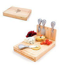 Picnic Time® NFL® Asiago Cutting Board - Minnesota Vikings Engraved