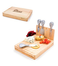 Picnic Time® NFL® Asiago Cutting Board - New England Patriots Engraved