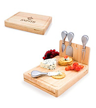 Picnic Time® NFL® Asiago Cutting Board - New Orleans Saints Engraved