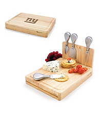 Picnic Time® NFL® Asiago Cutting Board - New York Giants Engraved