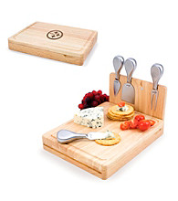 Picnic Time® NFL® Asiago Cutting Board - Pittsburgh Steelers Engraved