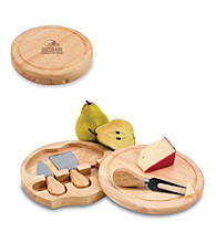 Picnic Time® NFL® Brie Cutting Board - Cleveland Browns Engraved
