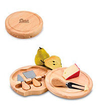 Picnic Time® NFL® Brie Cutting Board - New England Patriots Engraved