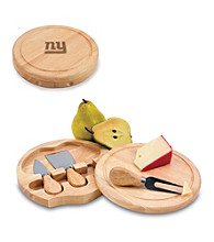Picnic Time® NFL® Brie Cutting Board - New York Giants Engraved