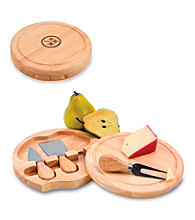 Picnic Time® NFL® Brie Cutting Board - Pittsburgh Steelers Engraved
