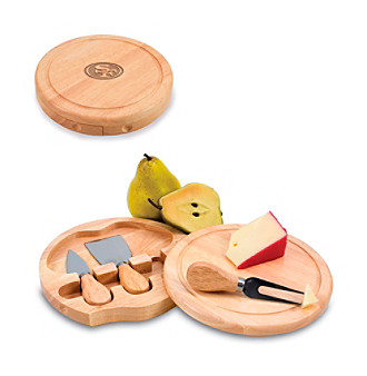 Picnic Time® NFL® Brie Cutting Board - San Francisco 49ers Engraved