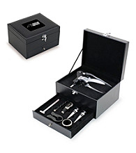Picnic Time® NFL® 8-pc. Cabernet Wine Accessory Set - Carolina Panthers Engraved