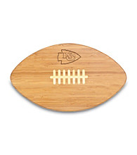 Picnic Time® NFL® Touchdown Pro! Cutting Board - Kansas City Chiefs Engraved