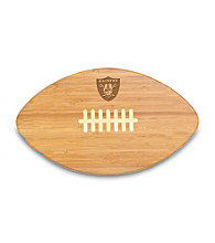 Picnic Time® NFL® Touchdown Pro! Cutting Board - Oakland Raiders Engraved