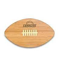 Picnic Time® NFL® Touchdown Pro! Cutting Board - San Diego Chargers Engraved